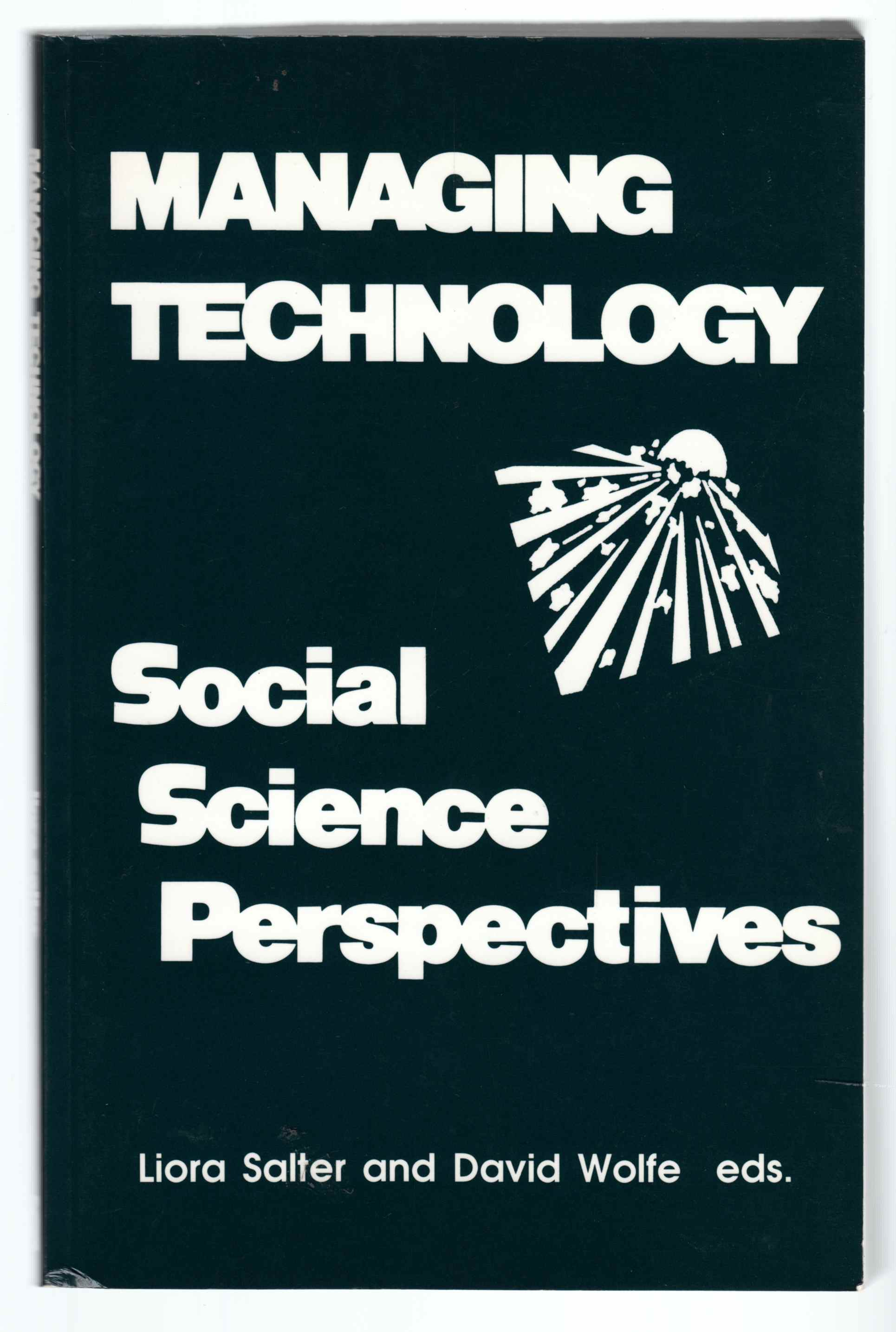 Image for Managing Technology Social Science Perspectives