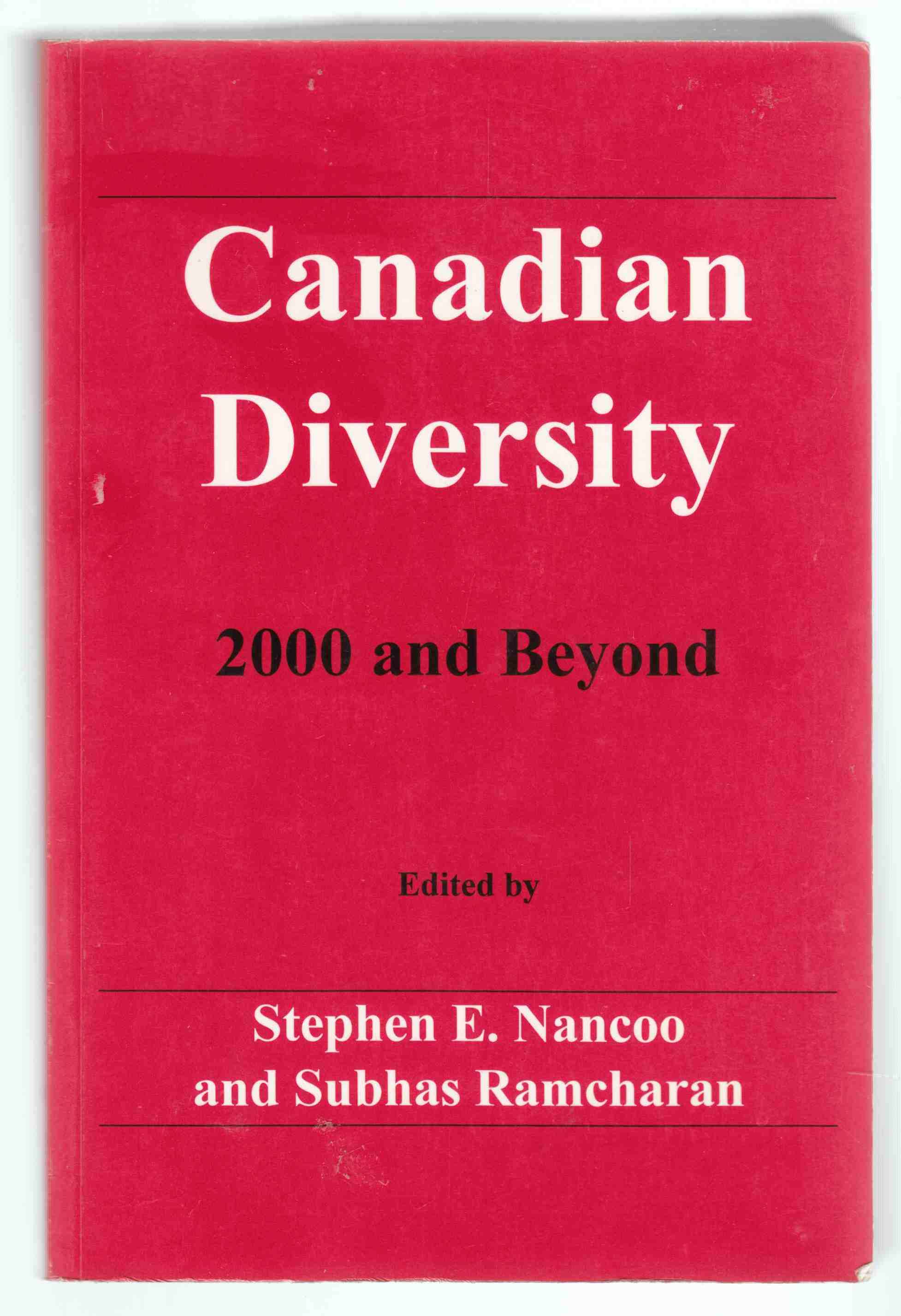 Image for Canadian Diversity 2000 and Beyond