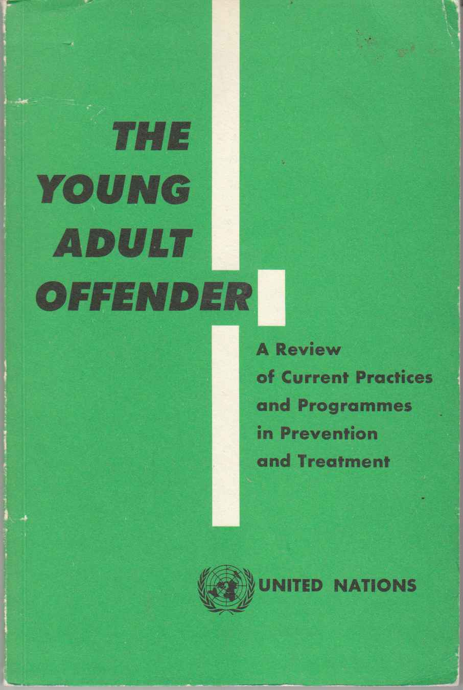 Image for The Young Adult Offender A Review of Current Practices and Programmes in Prevention and Treatment