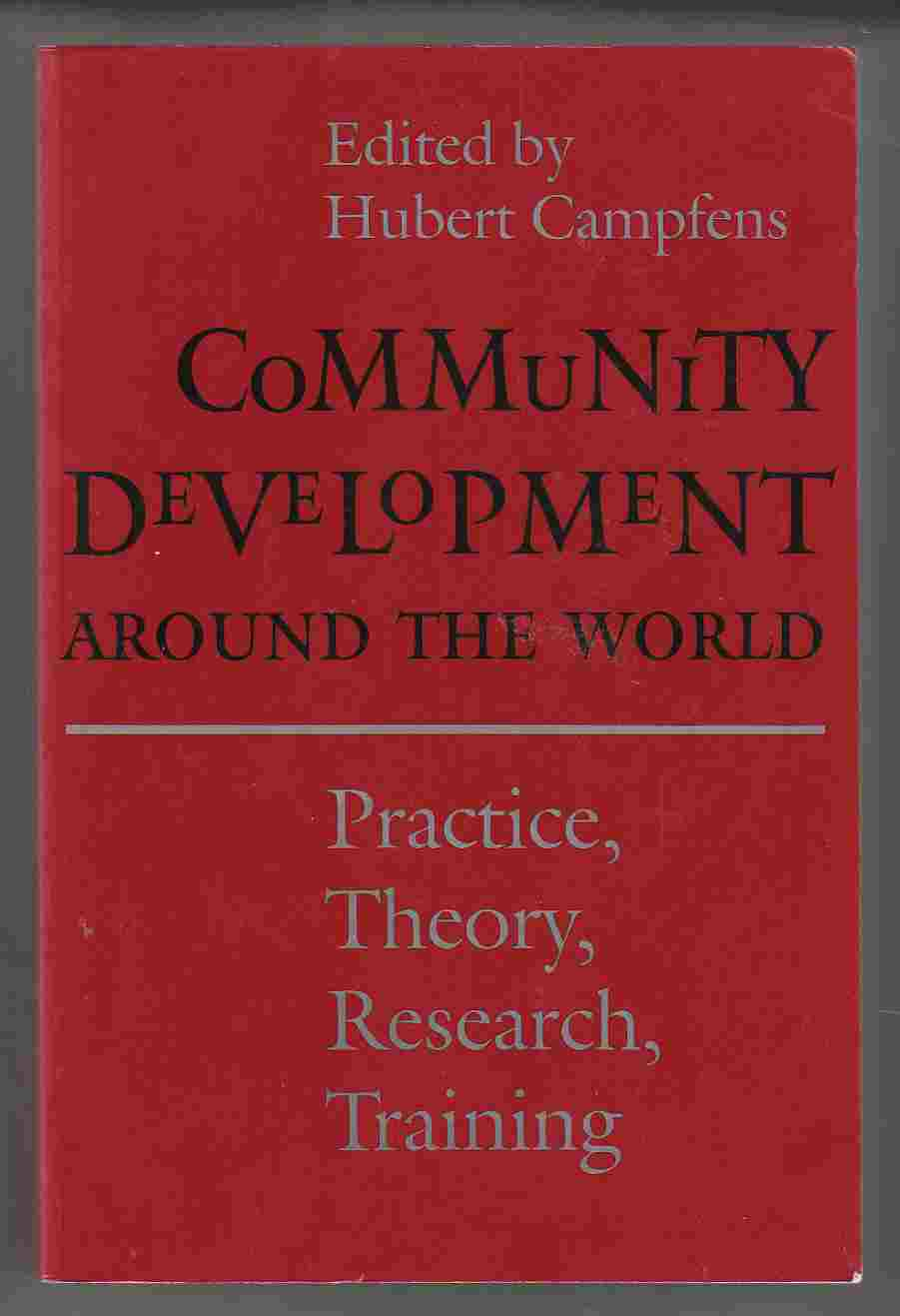 Image for Community Development around the World Practice, Theory, Research, Training