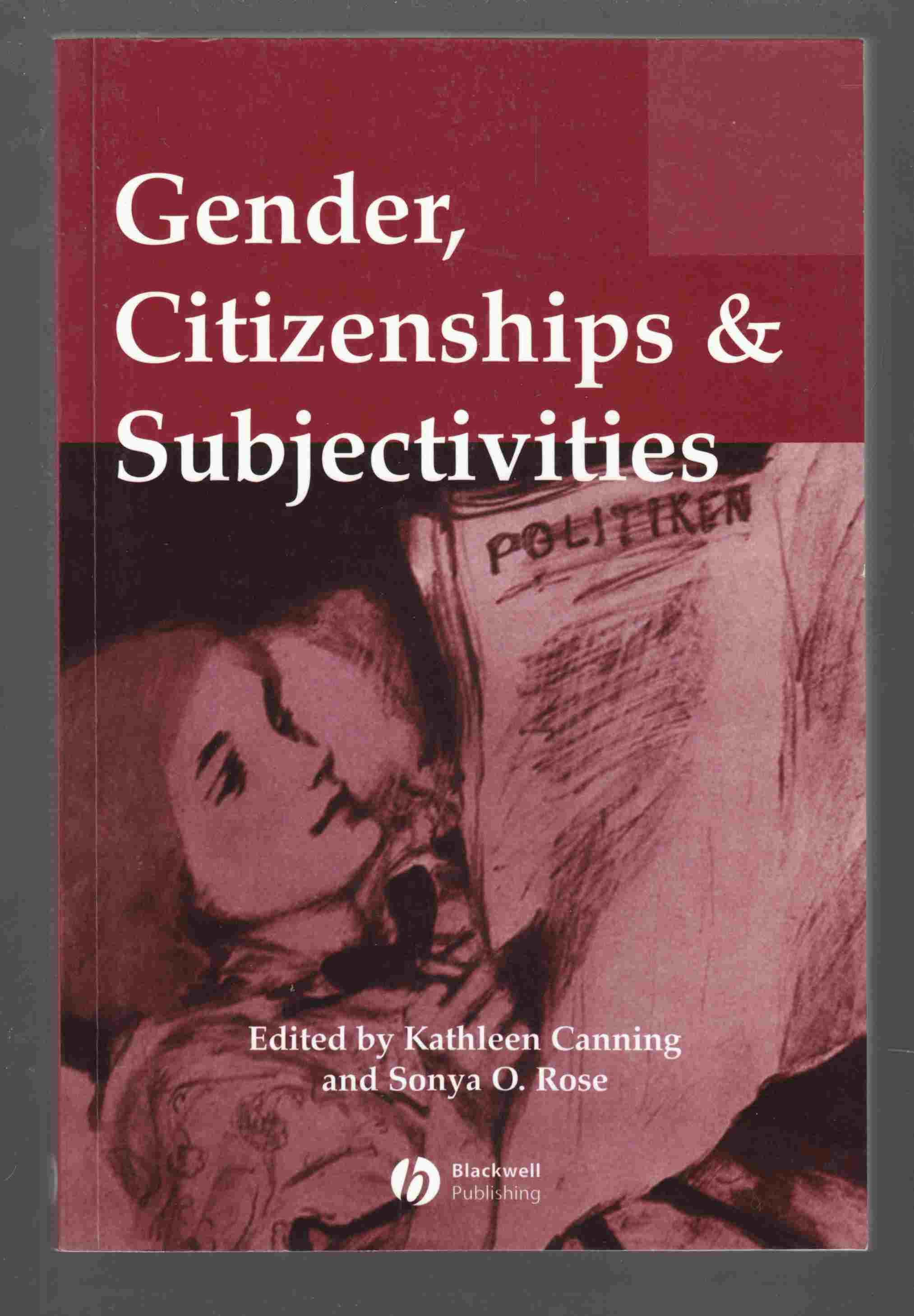 Image for Gender, Citizenships & Subjectivities