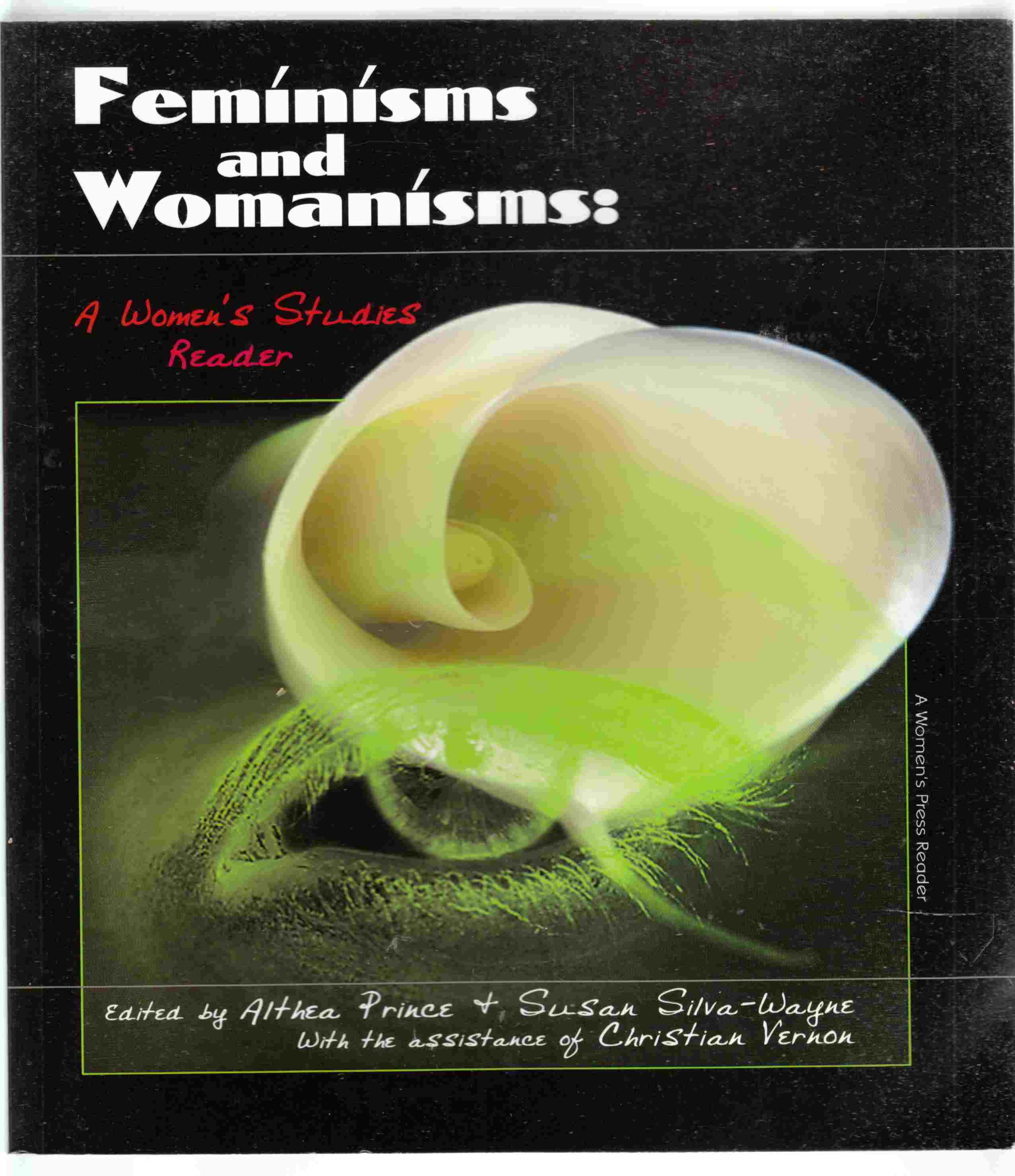 Image for Feminisms and Womanisms A Women's Studies Reader
