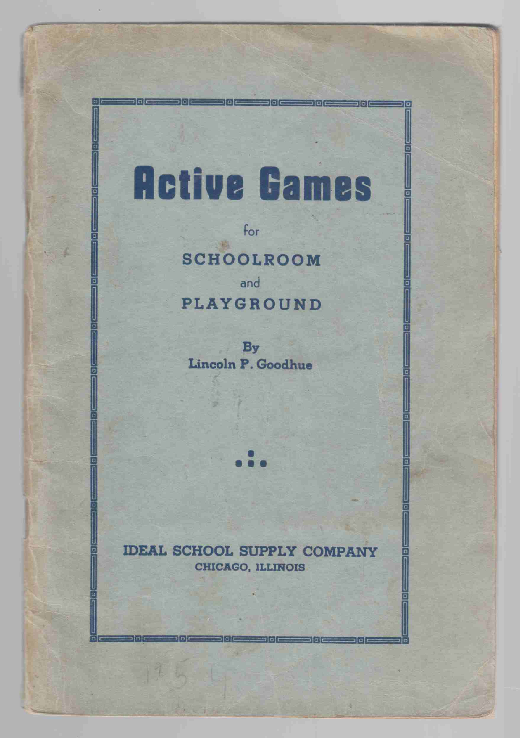 Image for Active Games for Schoolroom and Playground