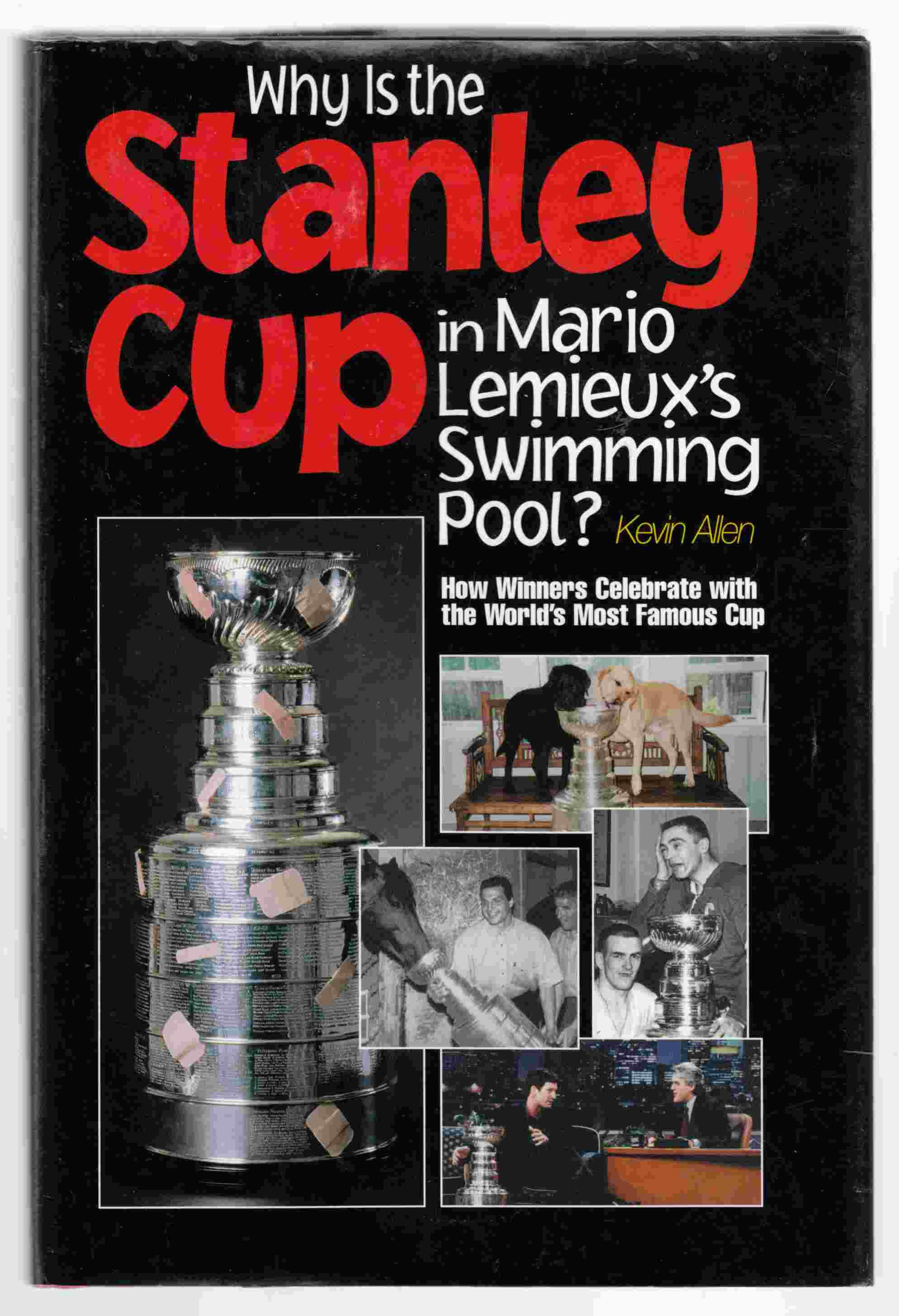 Image for Why is the Stanley Cup in Mario Lemieux's Swimming Pool?  How Winners Celebrate with the World's Most Famous Cup