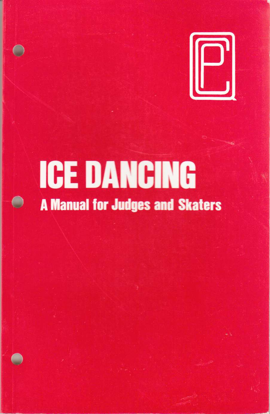 Image for Ice Dancing A Manual for Judges