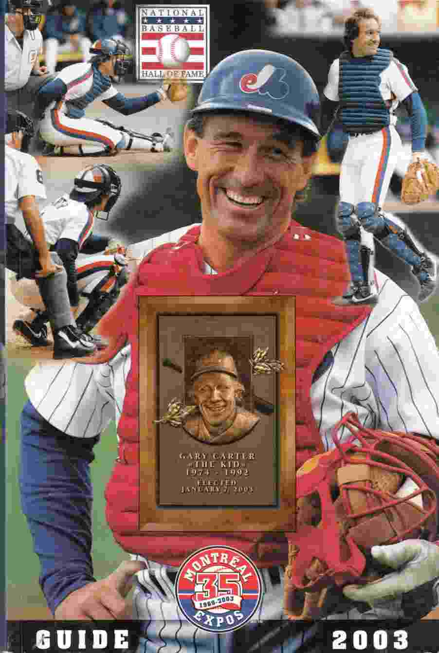 Image for Montreal Expos Guide 2003