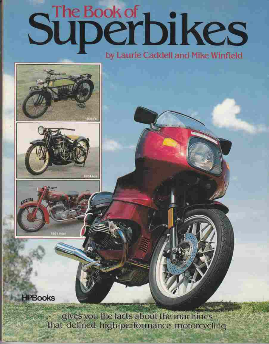 Image for The Book of Superbikes