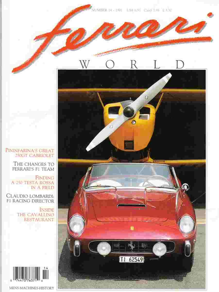 Image for Ferrari World Number 14 September / October 1991
