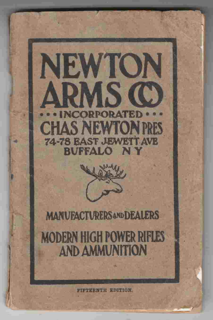 Image for Newton Arms Co. 1917 Catalog