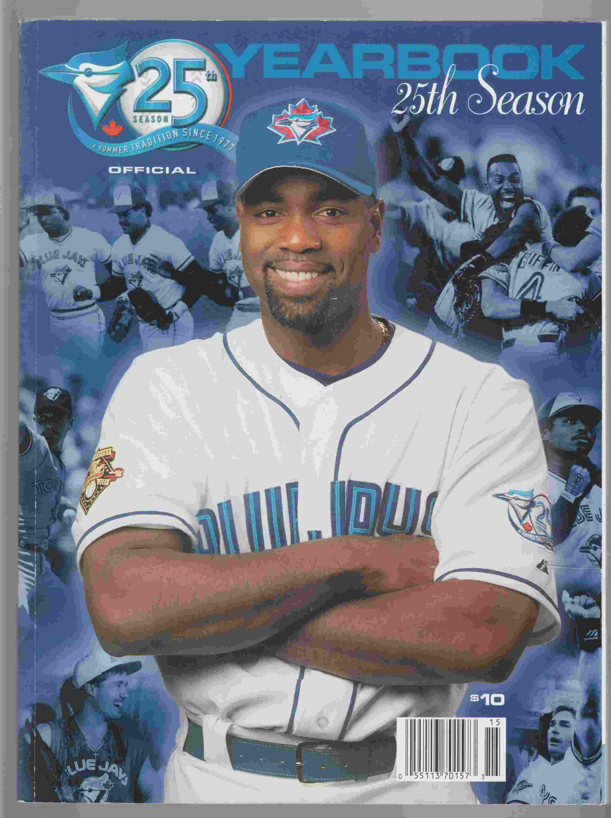 Image for 2001 Official Yearbook of the Toronto Blue Jays