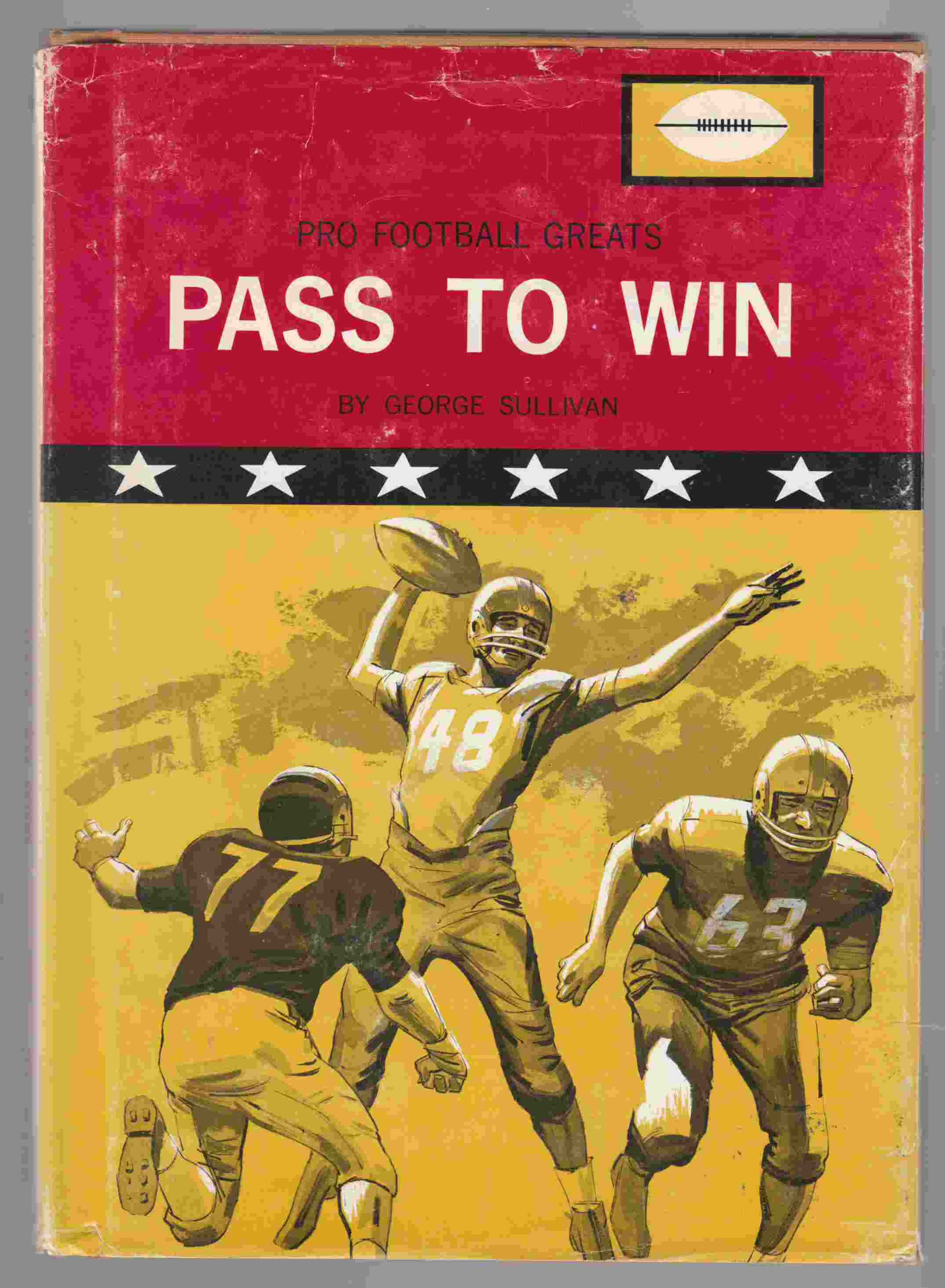 Image for Pro Football Greats: Pass to Win