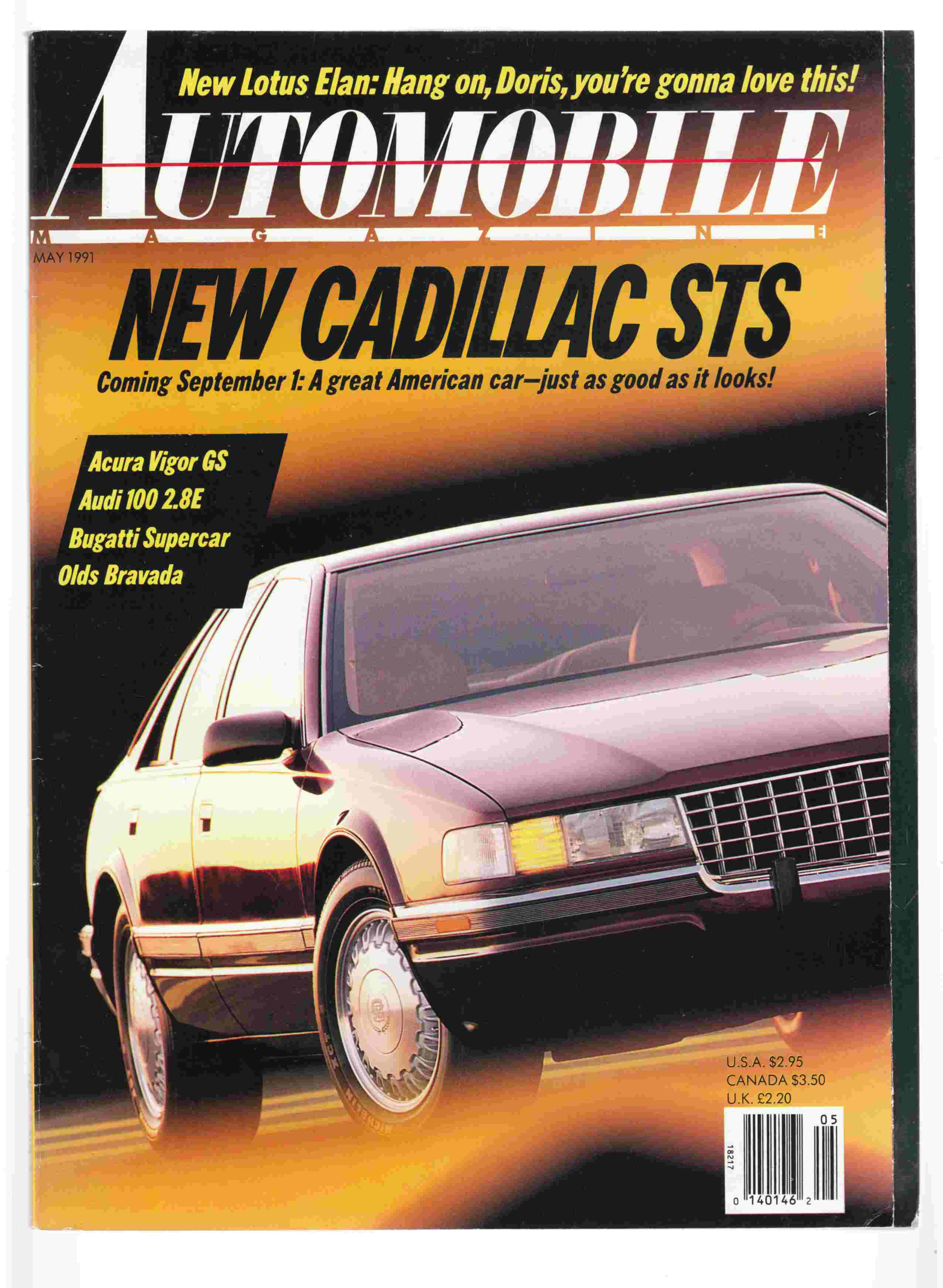 Image for Automobile Magazine May 1991 Vol. 6, No. 2