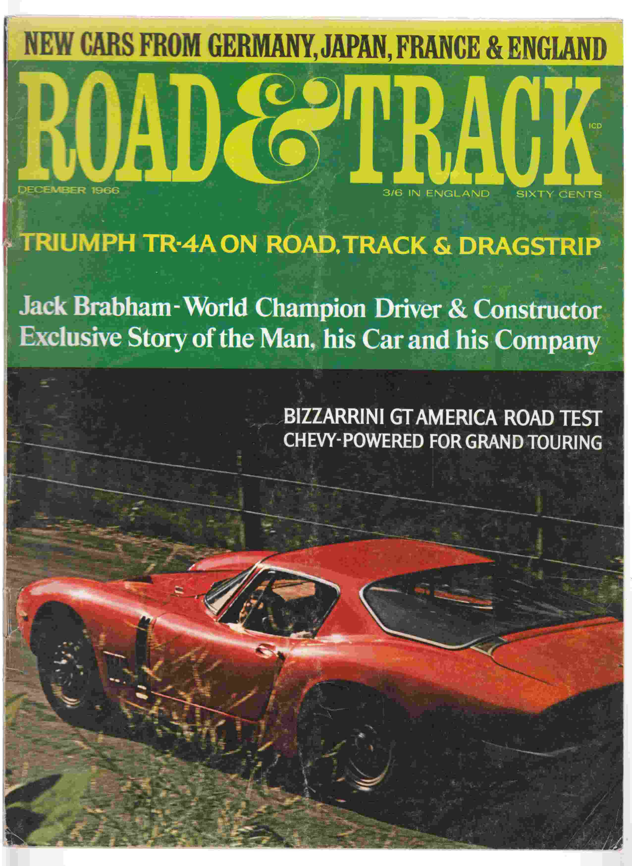 Image for Road & Track December 1966 Volume 18, Number 4