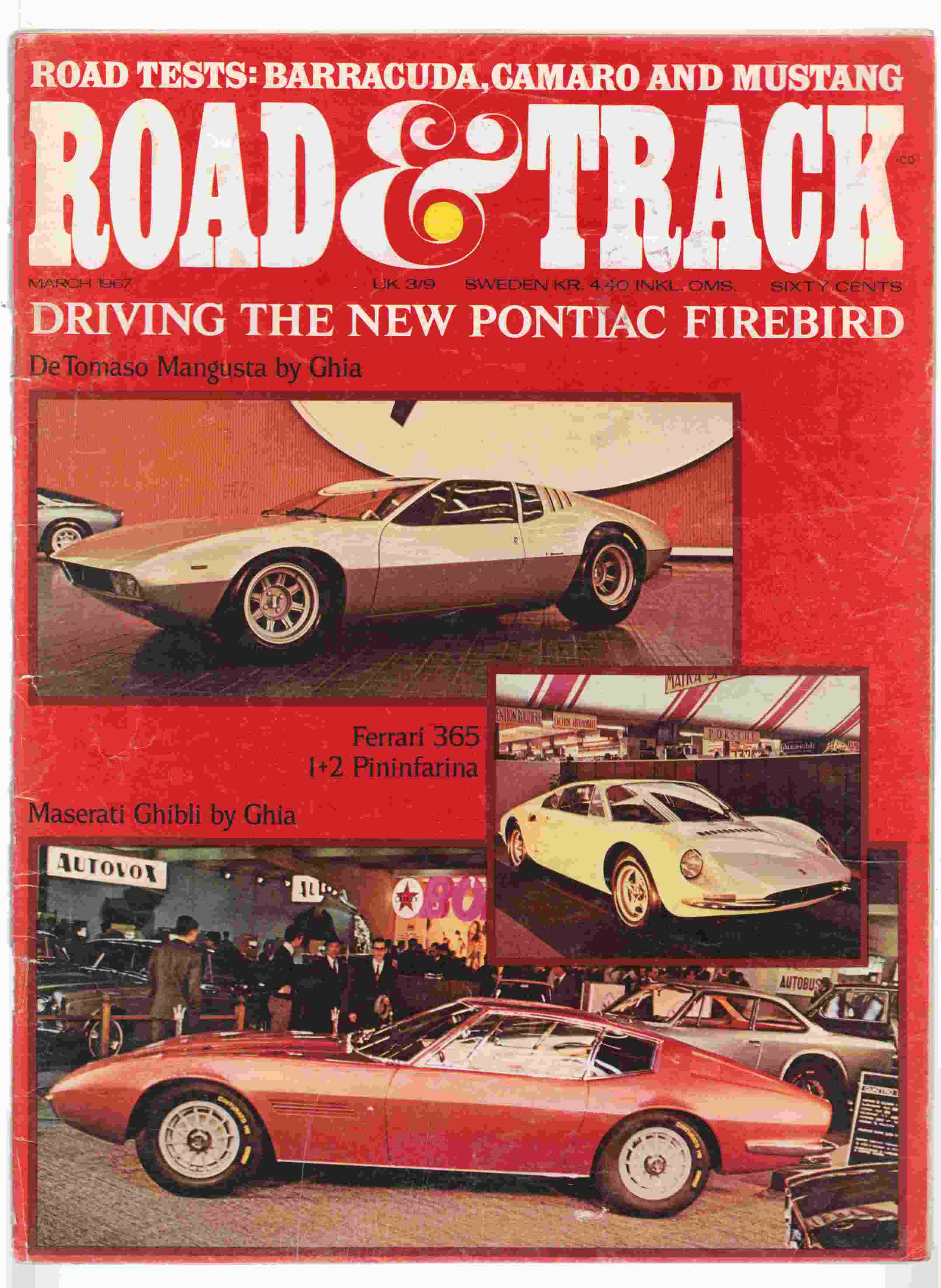 Image for Road & Track March 1967 Volume 18, Number 7
