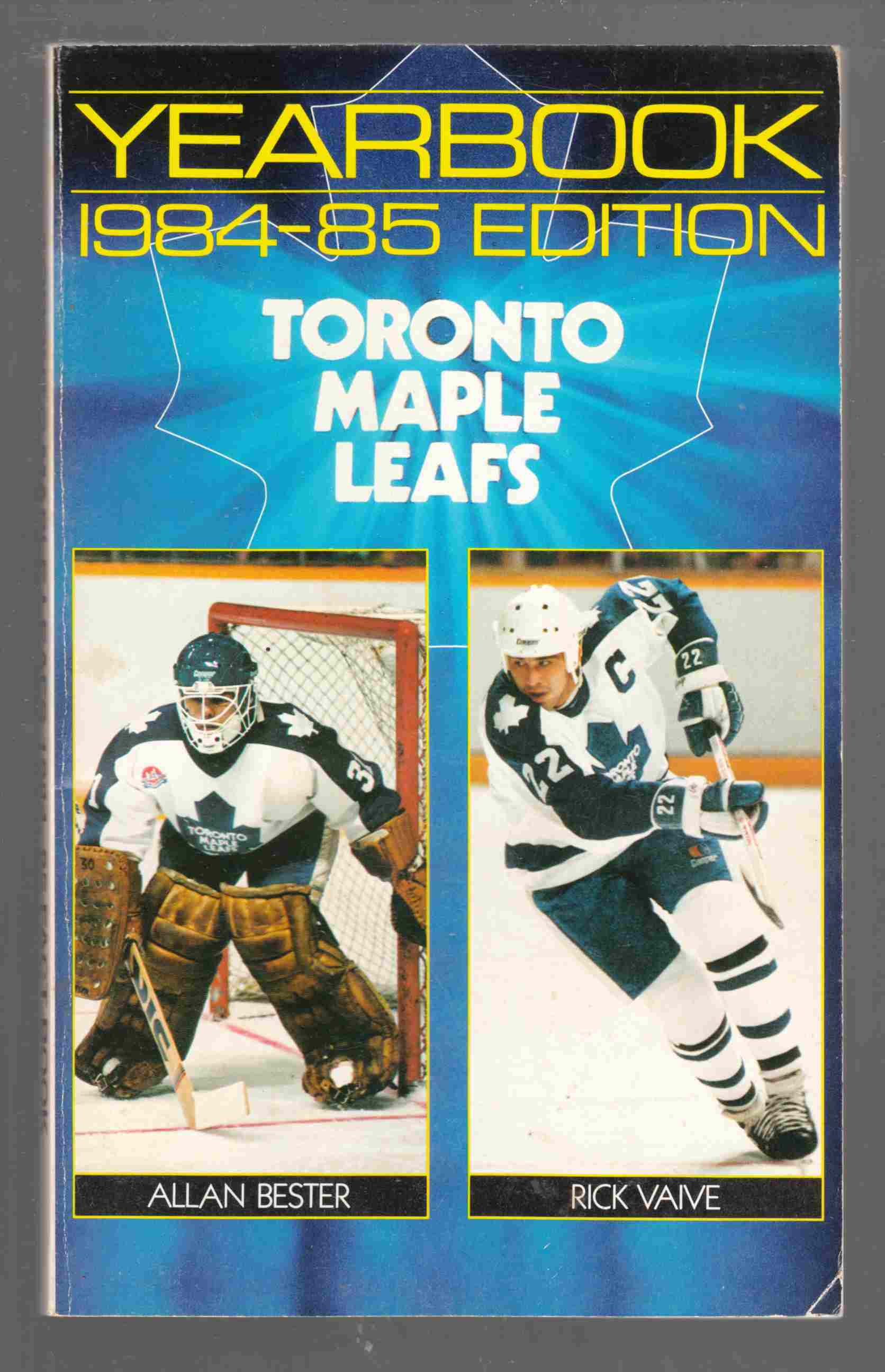 Image for Yearbook The 1984-85 Official Fact Book of the Toronto Maple Leafs