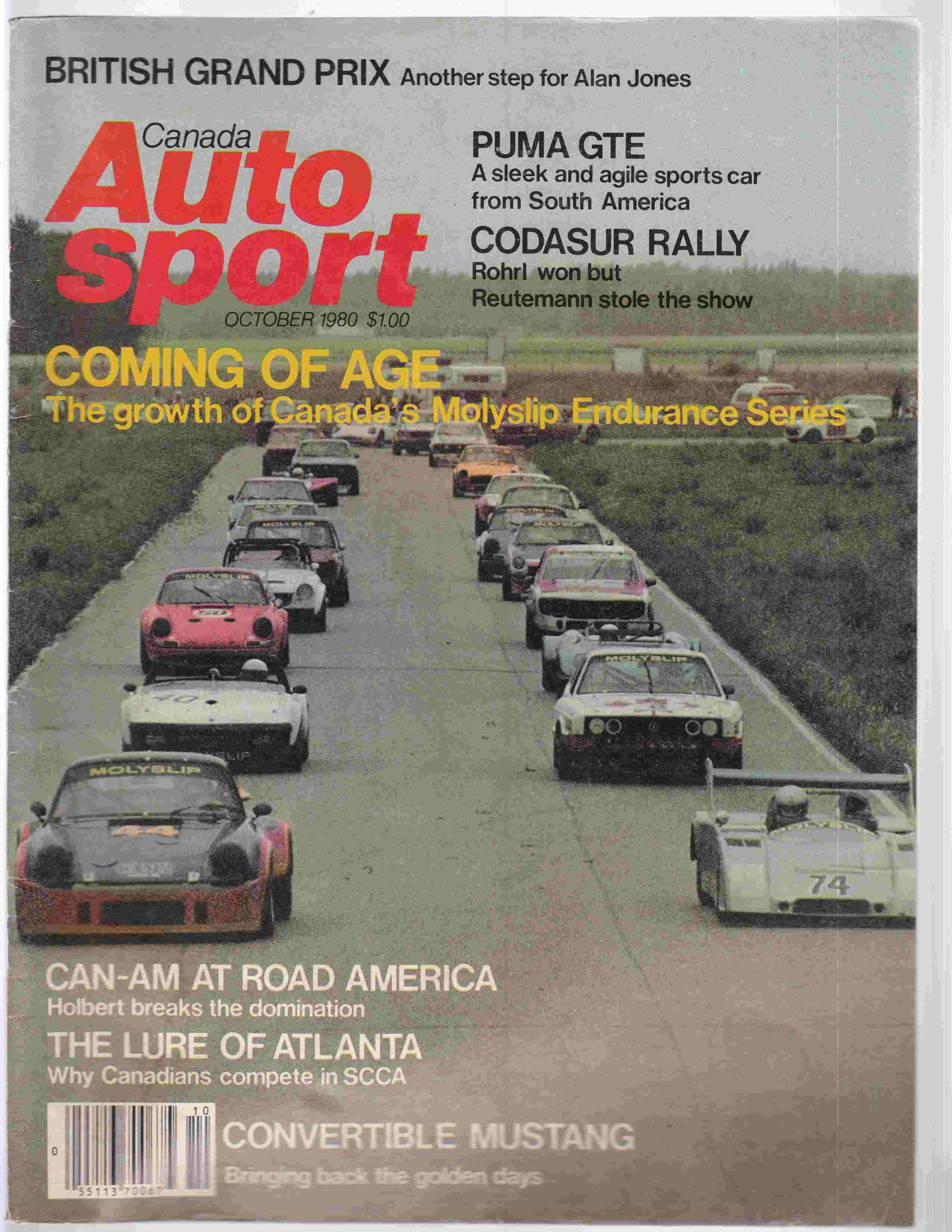 Image for Autosport Canada October 1980 Volume 6 Issue 8