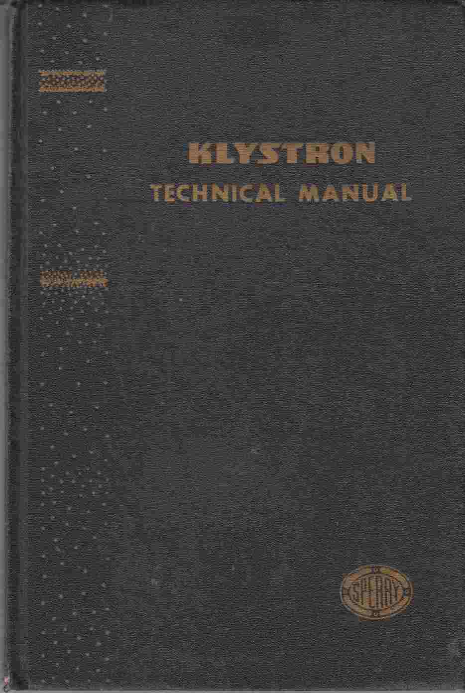Image for Klystron Technical Manual