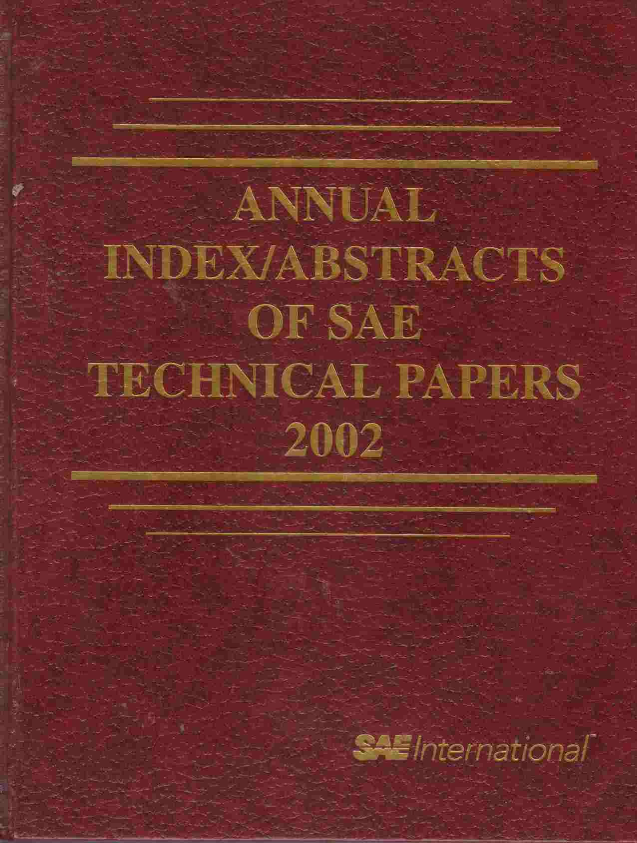 Image for SAE 2002 Transactions Journal of Passenger Car: Electrical and Electronic Systems Section 7 - Volume 111