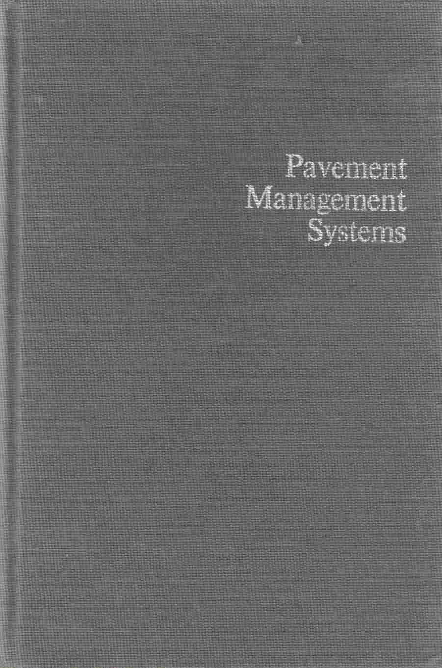 Image for Pavement Management Systems