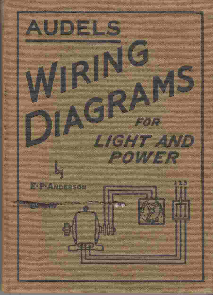 Image for Audels Wiring Diagrams for Light and Power