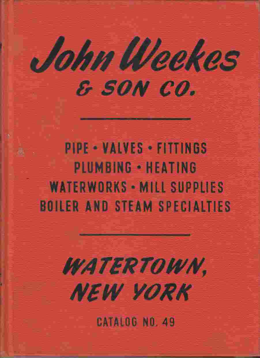 Image for John Weekes & Son Co. Catalog No. 49