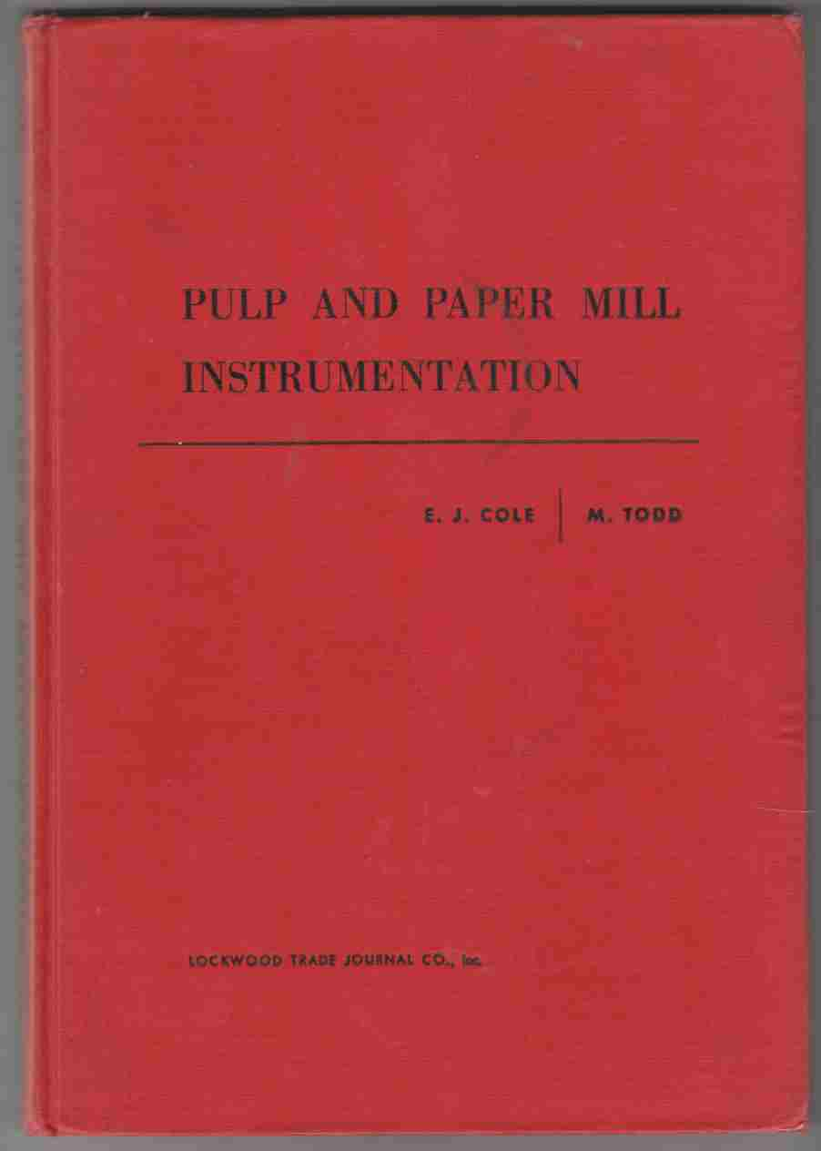 Image for Pulp and Paper Mill Instrumentation