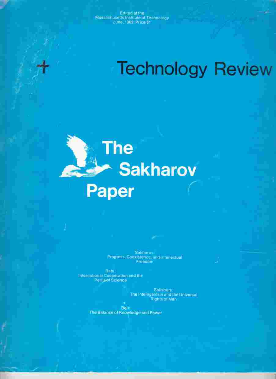Image for Technology Review June, 1969