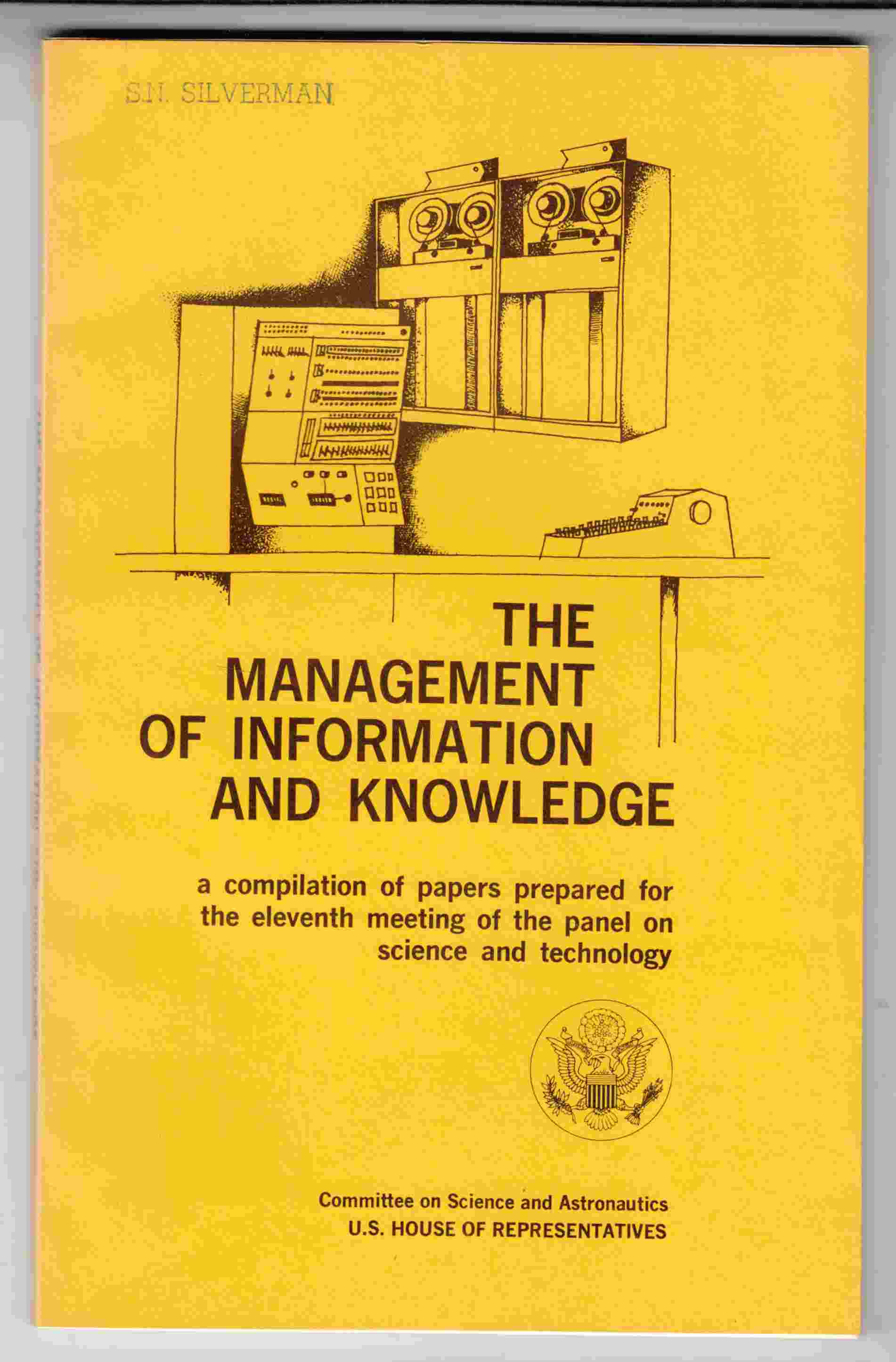 Image for The Management of Information and Knowledge