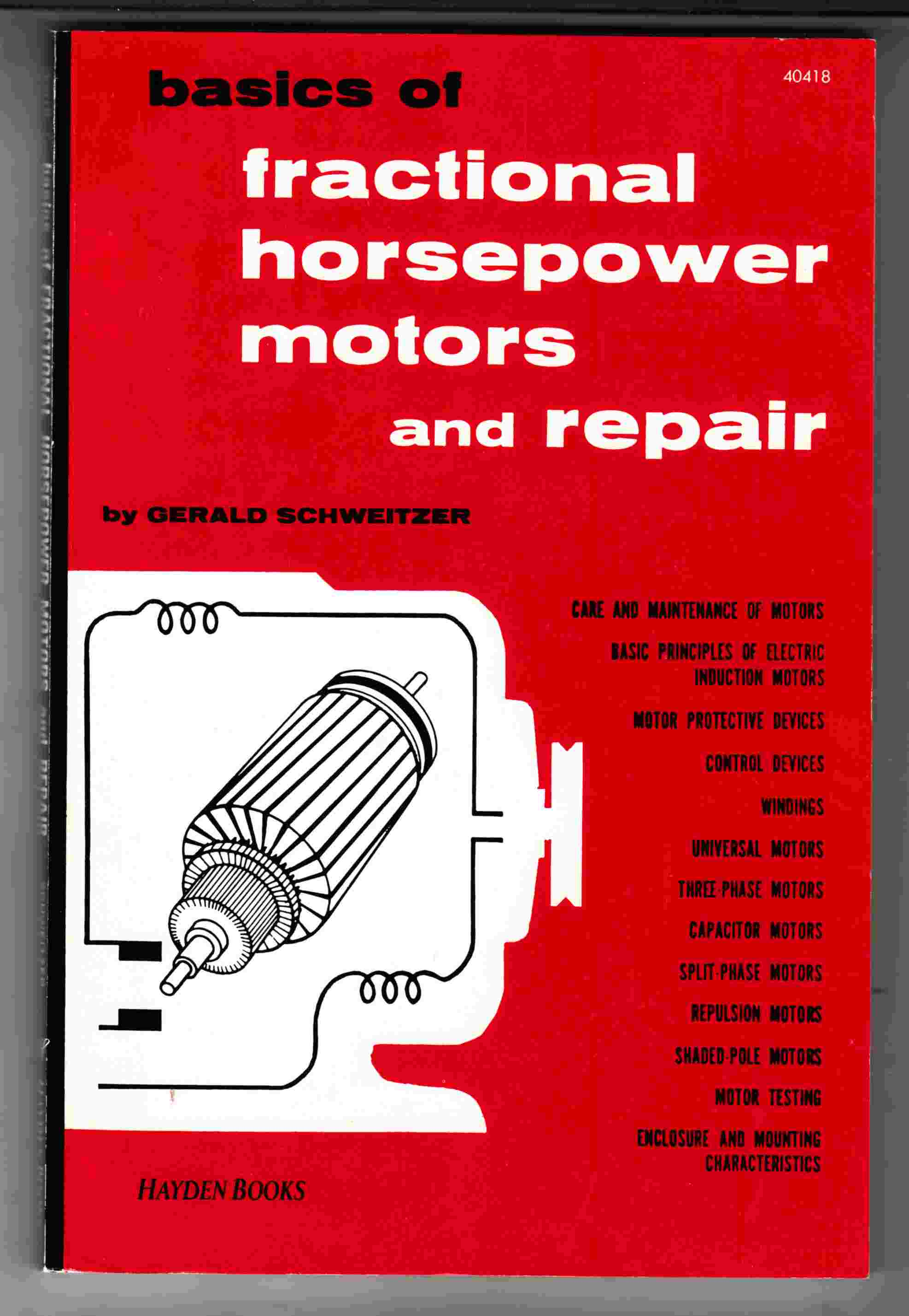 Image for Basics of Fractional Horsepower Motors and Repair
