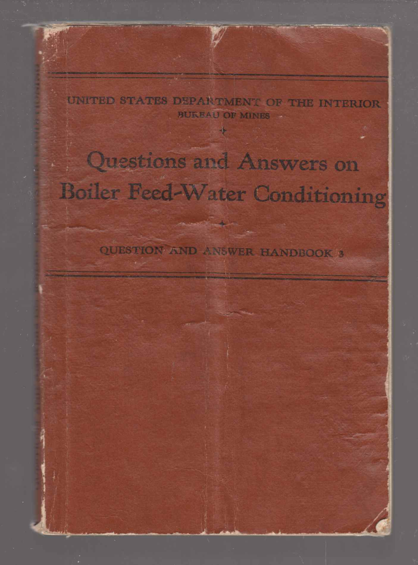 Image for Questions and Answers on Boiler Feed-Water Conditioning