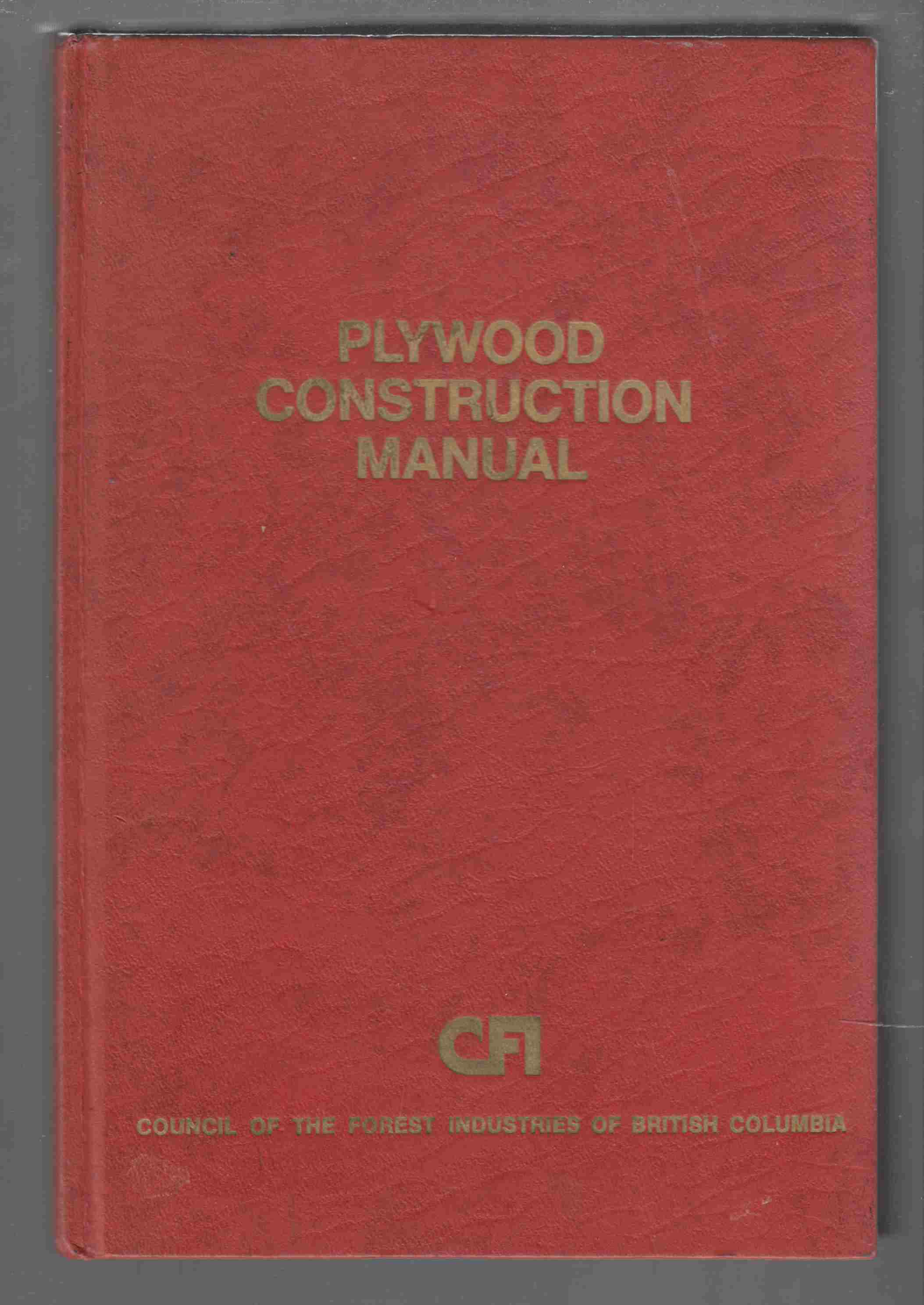 Image for Plywood Construction Manual