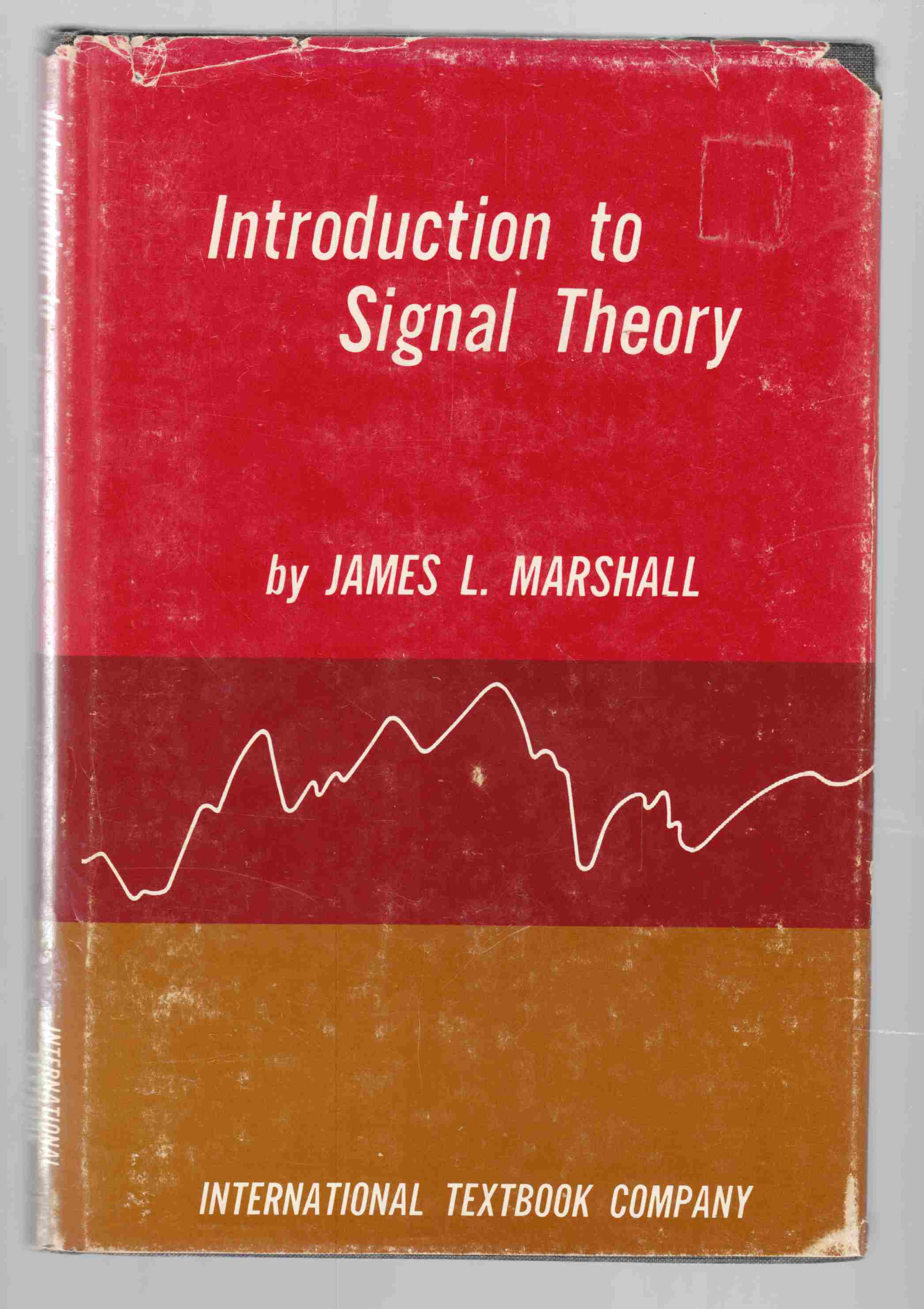 Image for Introduction to Signal Theory