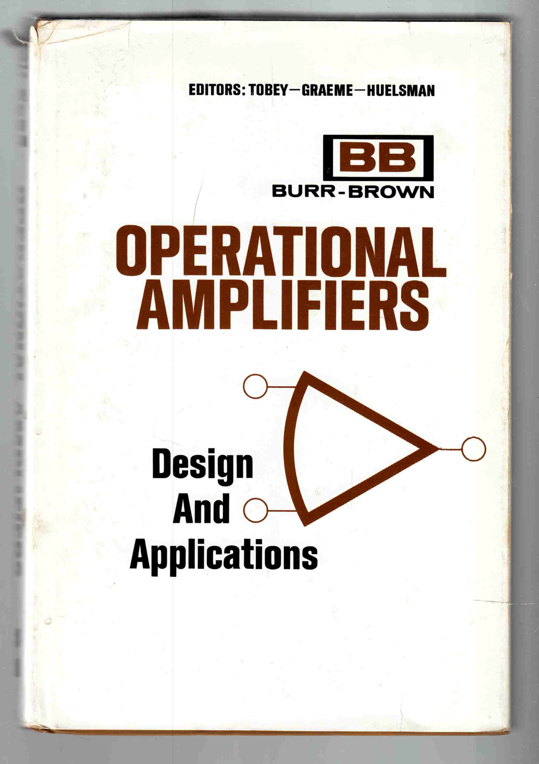 Image for Operational Amplifiers Design and Applications