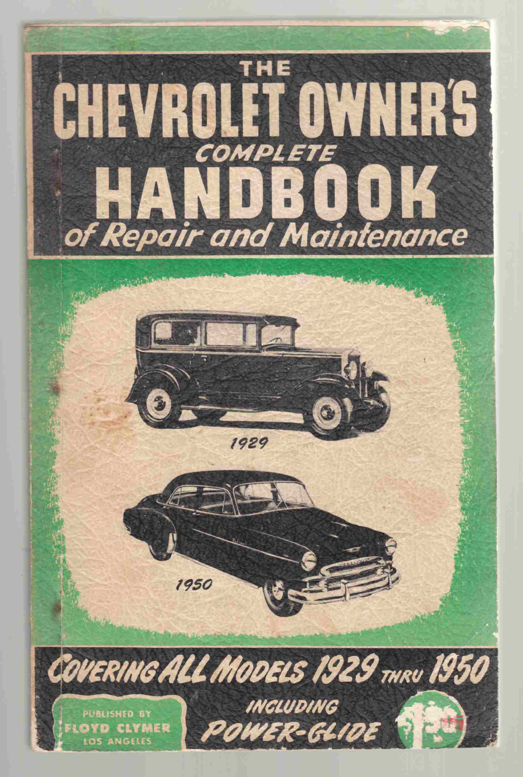 Image for Chevrolet Owner's Handbook of Repair and Maintenance