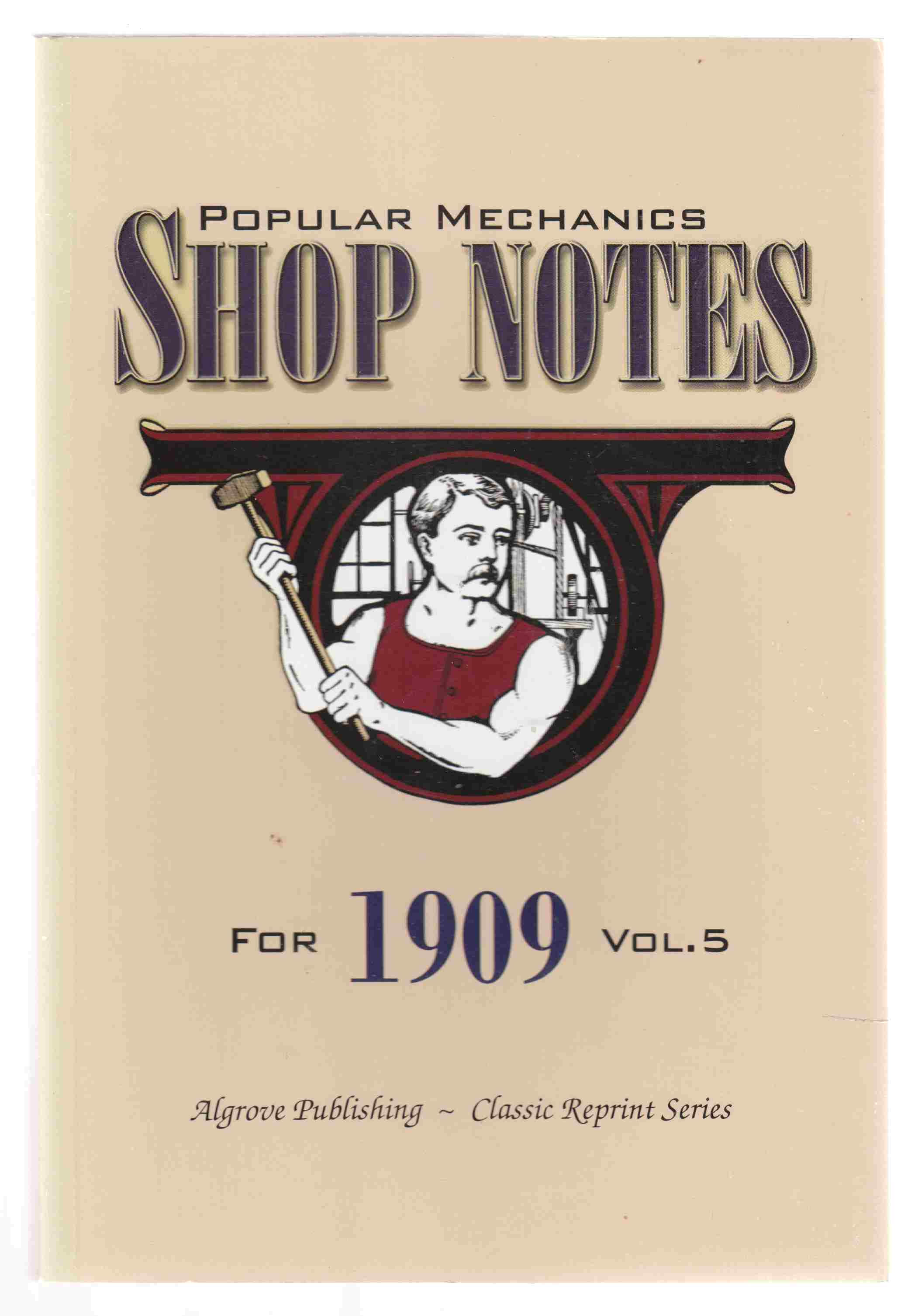 Image for Popular Mechanics Shop Notes for 1909 Vol. 5