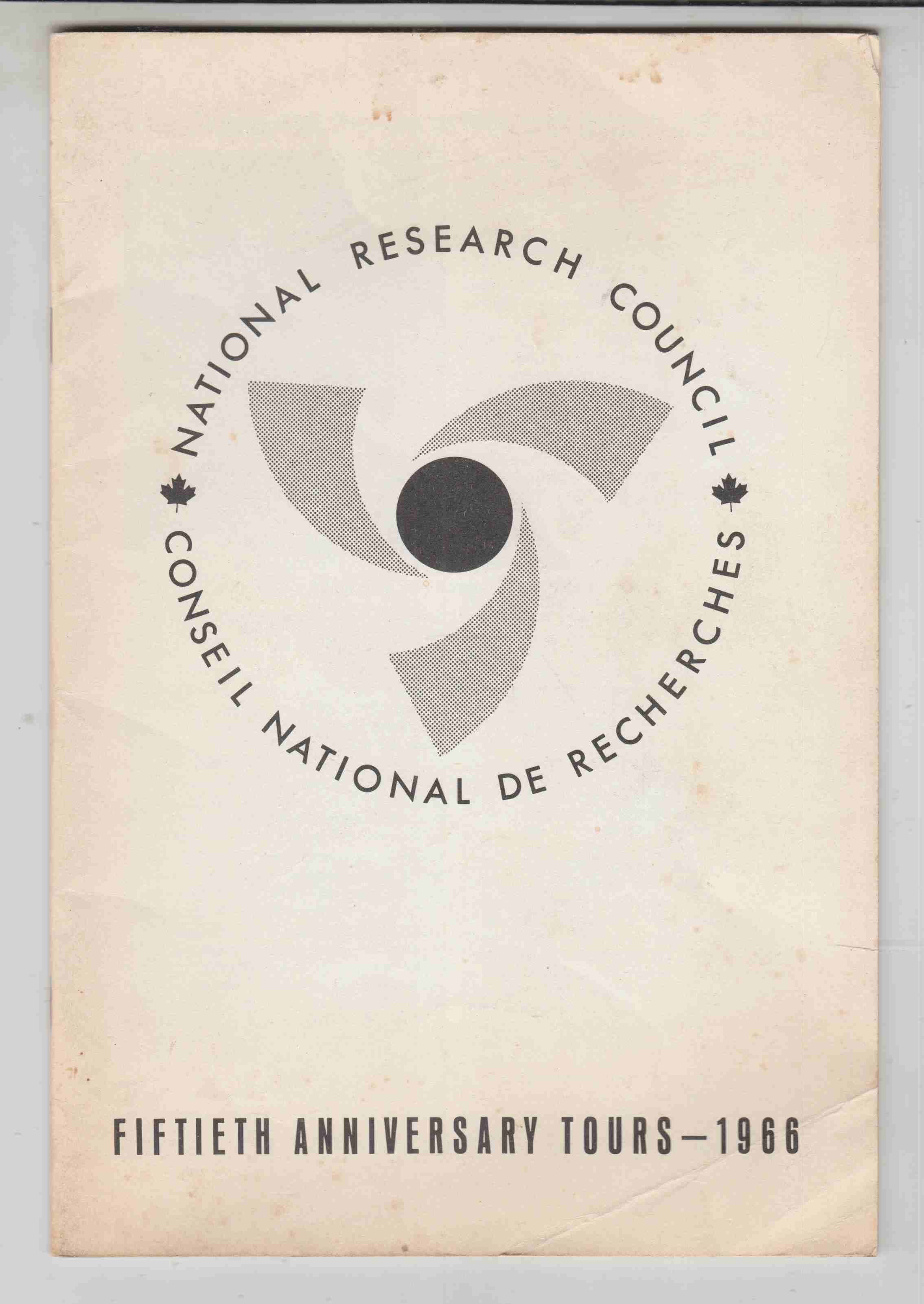 Image for National Research Council Fiftieth Anniversary Tours - 1966