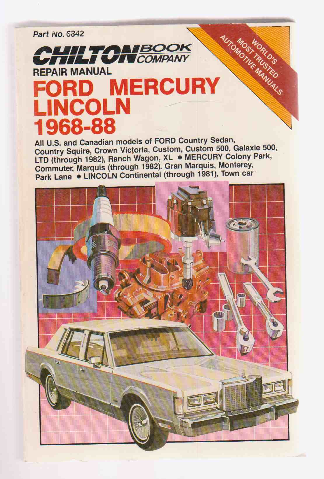 Image for Ford Mercury Lincoln 1968-88