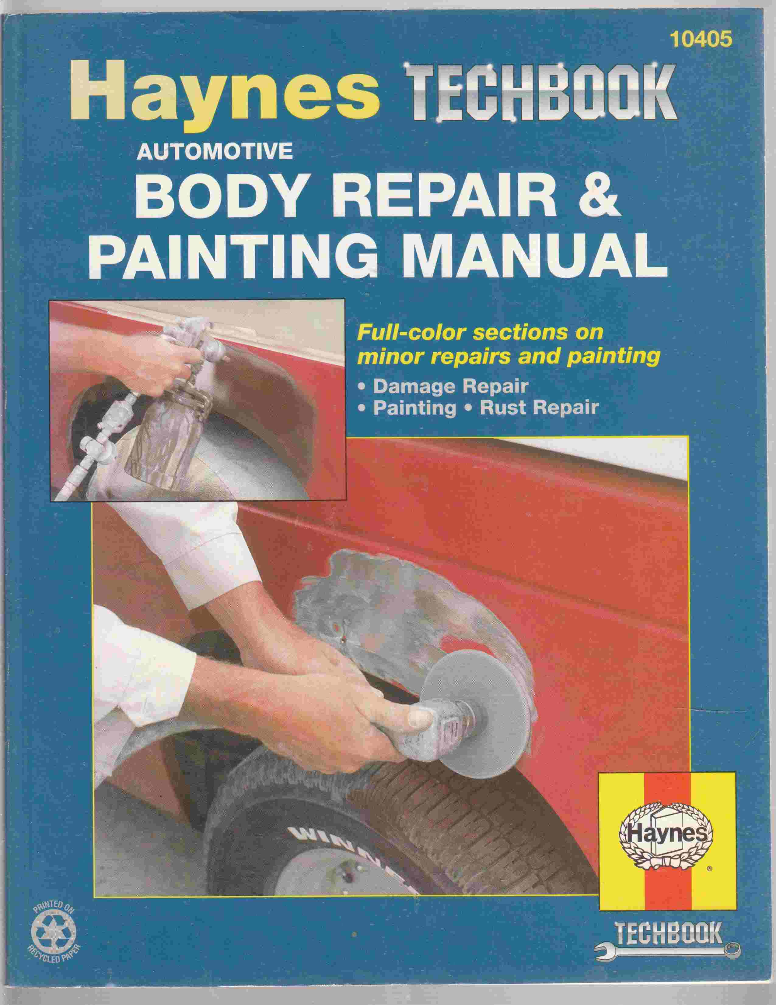 Image for Body Repair and Painting Manual
