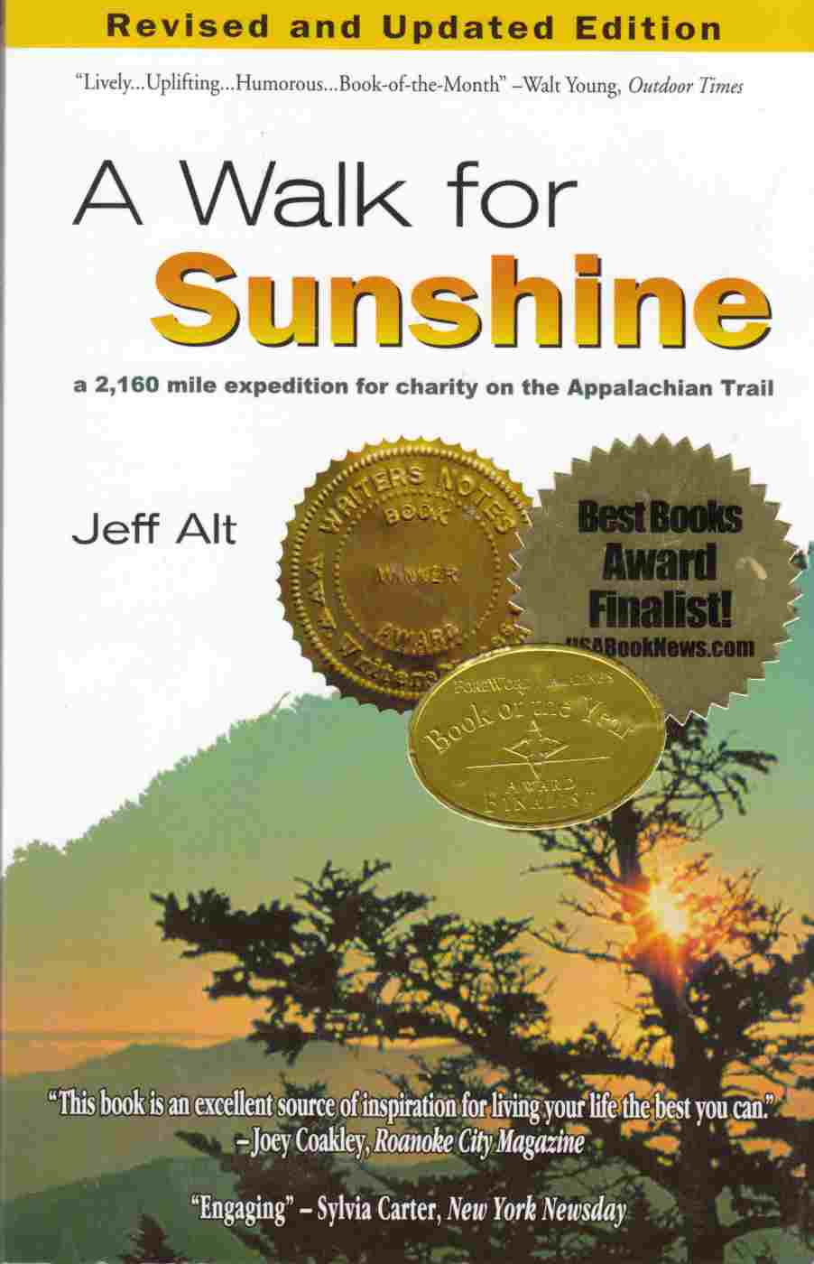 Image for A Walk for Sunshine:  A 2160 Mile Expedition for Charity on the Appalachian Trail
