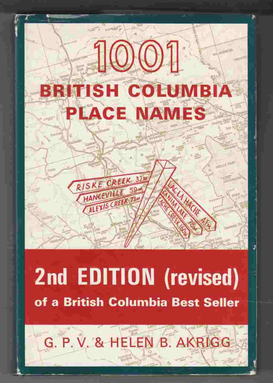 Image for 1001 British Columbia Place Names
