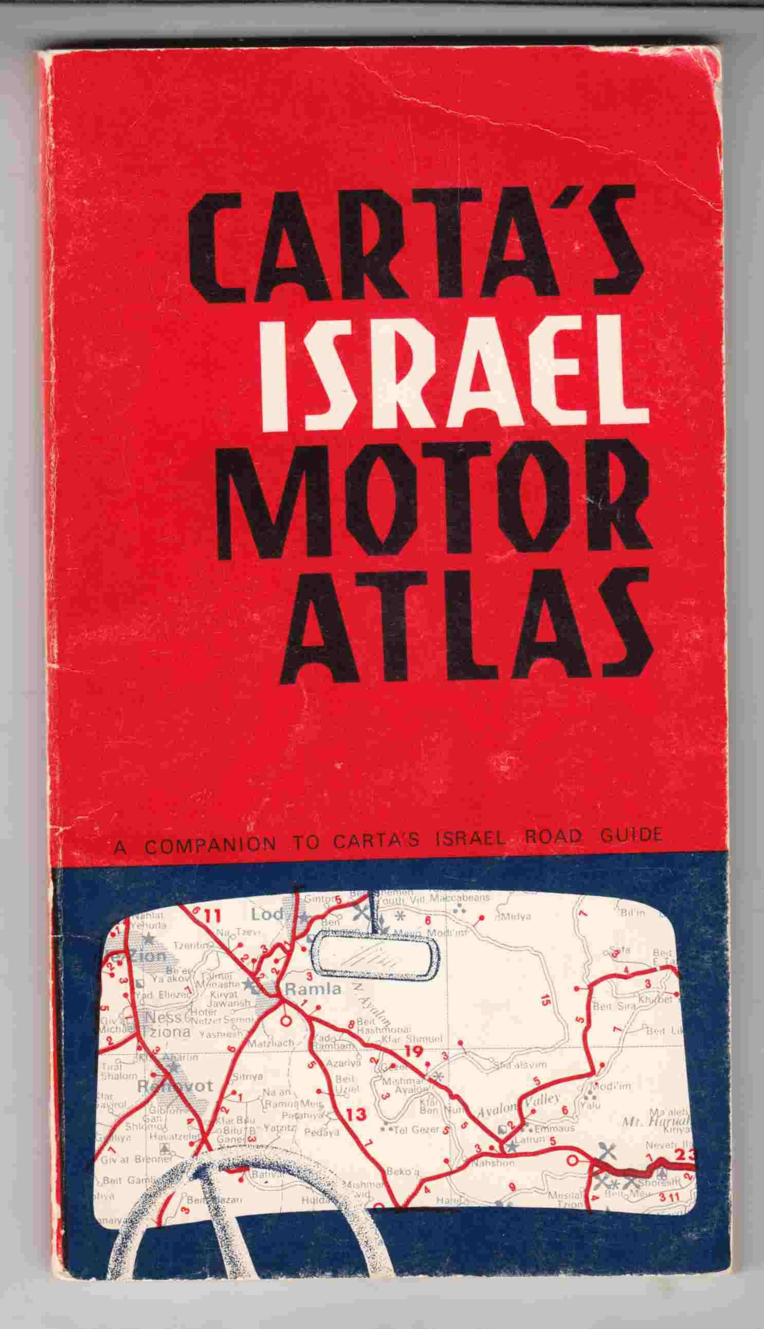 Image for Carta's Israel Motor Atlas