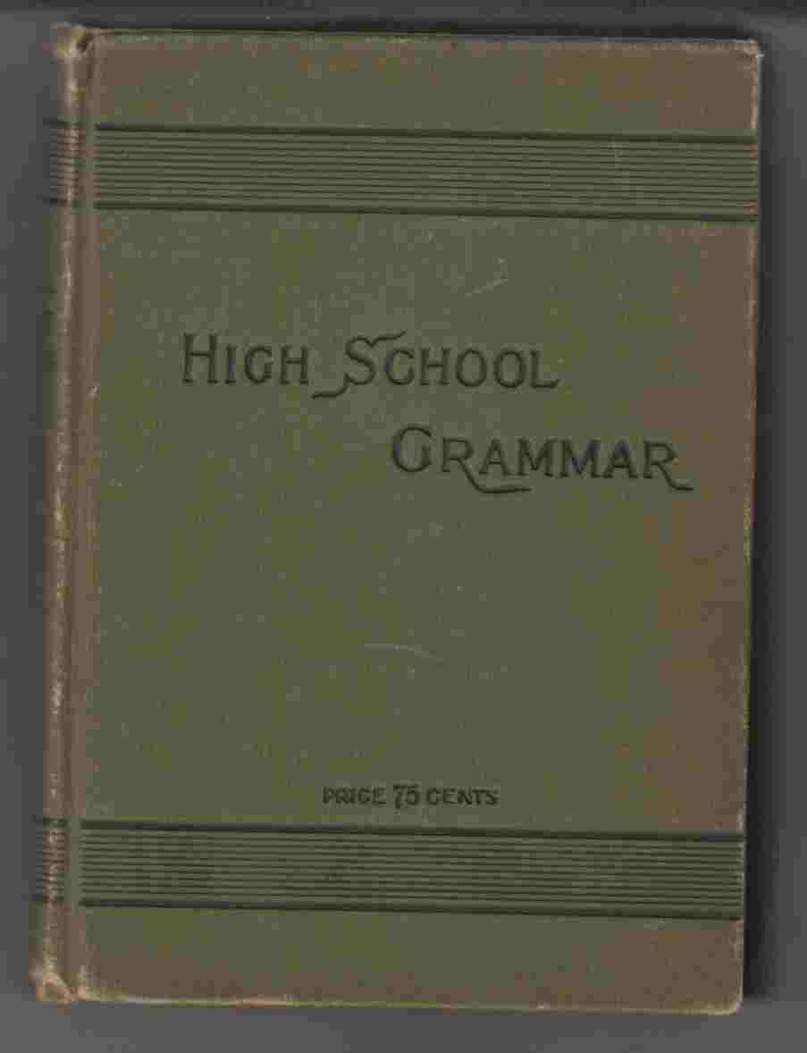 Image for The High School Grammar Revised Edition